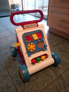 Free Fisher-Price Baby Walker