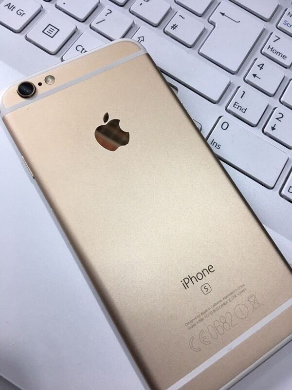 Iphone 6S 64GB Gold, good condition. Unlocked to all Networksin Bradford, West YorkshireGumtree - Iphone 6S 64GB Gold, good condition Unlocked to all Networks Buy from Mobile World BD9 4rj
