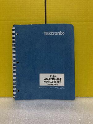 Tektronix 2235 Anusm-488 Oscilloscope Operators Instruction Manual