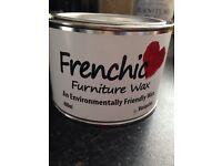 Furniture white wax chalk paint