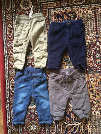 Baby boys trousers bundle 3-6 months