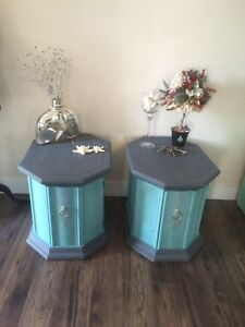 Beautiful Side End Tables(2) Refurbished