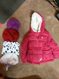 Baby hats and coat