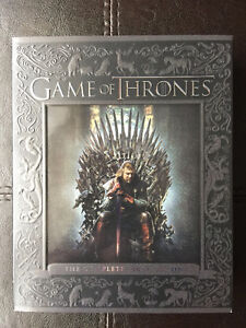 Coffrets BluRay+DVD Game of Thrones Saisons 1,2 et 3