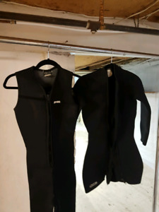 Womens Wetsuit 7mm 2pc