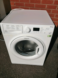 A++ class 9kg 1400 spin Hotpoint washing machine