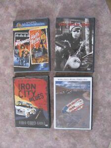 4 Biker DVDs