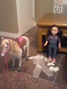 Our Generation Doll, Horse & Outfits.