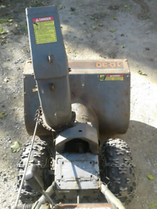 FIX/REPAIRED CRAFTSMAN 10/30 SNOWBLOWER CHASSIS ONLY*(NO ENGINE)