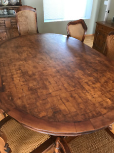 Spanish colonial style dining table