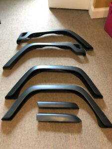 Jeep Wrangler TJ Stock fender flares - Fits 1997-2006 models