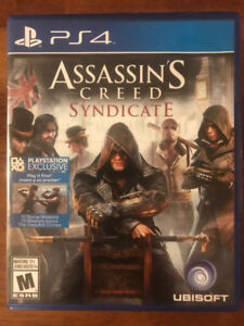 Assassins creed syndicate Like New