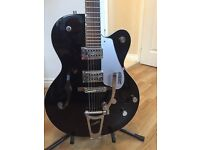 Gretsch G5120 semi guitar with quality hard case