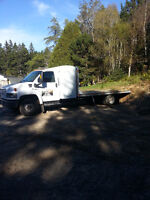 truck 16 ft flat bed for hire ..