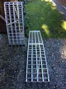 Heavy duty UTV/atv ramps