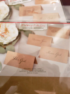 Place cards - wedding