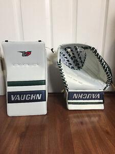 Vaughn V7 Goalie Glove T5500 Custom/ V7 XR Custom Pro Blocker