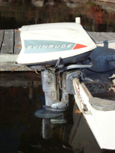18 hp Evinrude Fastwin Outboard Motor