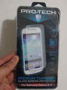 Galaxy S4 Premium Tempered Glass Screen Protector Edmonton Edmonton Area image 1