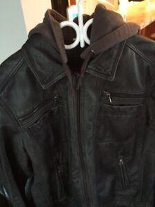 XL Daniel leather bomber jacket