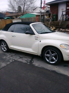 2005 PT Cruiser 2.4 ltr turbo Concertible