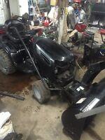 tracteur craftsman 25 hp 2006 hydrostatique souffleur