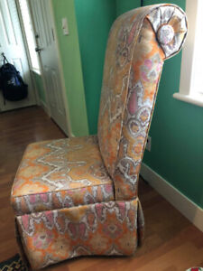 Pair of Gorgeous high backed chairs