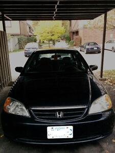 2001 Honda Civic Sedan- AS IS Kitchener / Waterloo Kitchener Area image 1