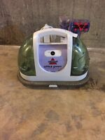 Little bissell green machine steam cleaner