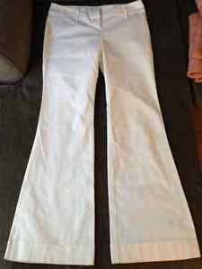 Rickis flare white dress pants size 8 Cambridge Kitchener Area image 1