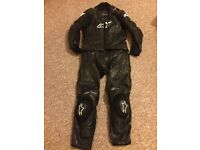 Alpinestars 2 Pc motorbike suit