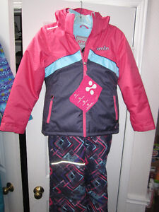 "Snowsuit, girls size 8, ""xmtn"" BNWT"