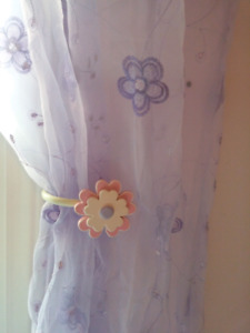 Beautiful Sgeer Girls Curtains and Rods rideaux