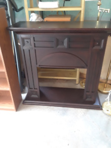Electric Fireplace Mantel - price reduced!