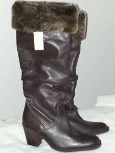 Naturalizer winter boots - leather - size 9- new
