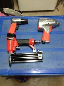 """Nailer, air hammer, 1/2"""" impact wrench"""