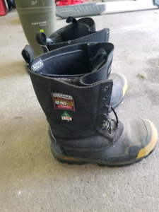 Mens Dakota Winter Steel Toe Work Boots