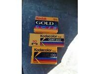 Kodak Gold Vintage Camera Films