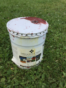 Looking for: Oil-Based Outdoor Barn Paint (Red)