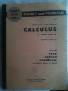 Schaum's CALCULUS,Theory & Problems of Differential and Integral