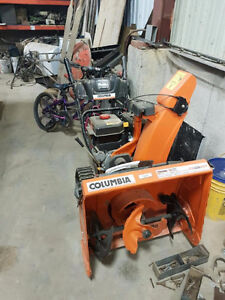columbia snowblower