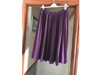 M&CO pleated skirt