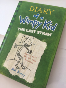BOOK SELLING!! diary of a wimpy kid the last straw