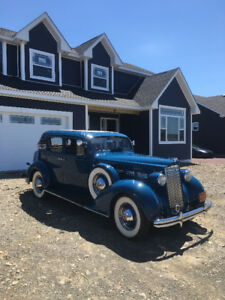 Own a rare find of a 1937 Packard that was made in Canada