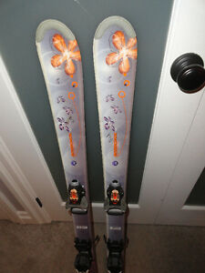 110cm Rossignol Downhill Skis with Bindings - Great Condition!