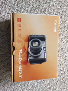 Canon PowerShot A650IS Camera