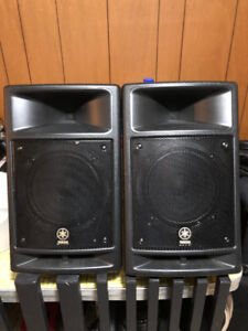 Yamaha and Yorkville portable PA systems GREAT condition