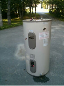 used electric hot water heater