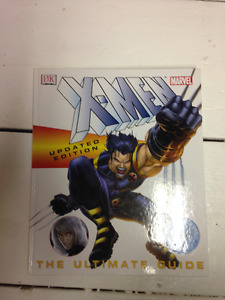 X-Men Ultimate Guide comics and movies