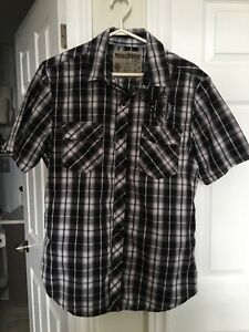 Young men's designer shirts sizes S-M-L assorted colours